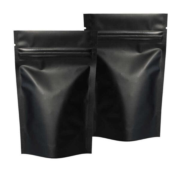 שקית אלומיניום פסגור צבע שחור