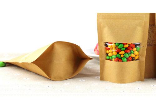שקיות פסגור נייר קראפט