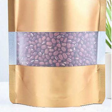 שקית אלומיניום עם חלון ענק לנראות המוצר