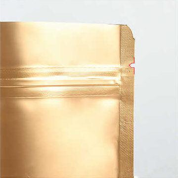 חתך פתיחה בשקיות אלומיניום עם פס סגירה